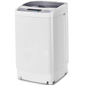 Giantex Full-Automatic Washing Machine Portable Compact 1.6 Cu. ft Laundry Washer