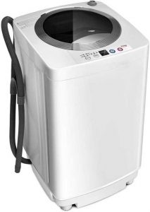 Giantex Portable Compact Full-Automatic Laundry 8 lbs Load Capacity Washing Machine WasherSpinner WDrain Pump