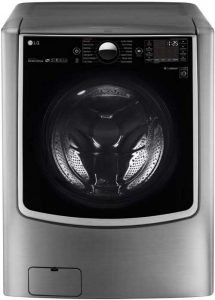 LG WM9000HVA TurboWash 5.2 Cu. Ft. Graphite Steel With Steam Cycle Front Load Washer