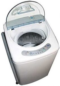haier hlp21n pulsator 1-cubic-foot portable washer